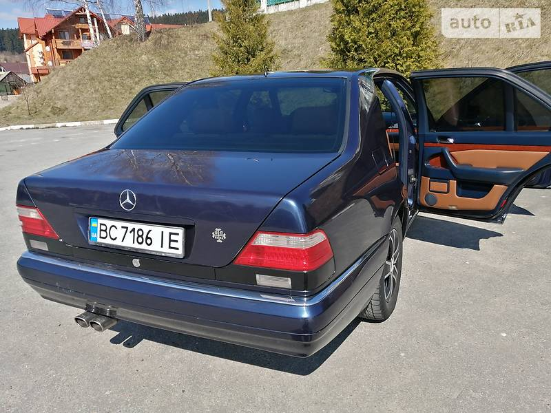 Седан Mercedes-Benz S 280 1997 в Бориславі