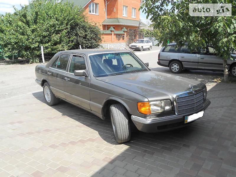 Mercedes-Benz S 300 1986 в Мелитополе