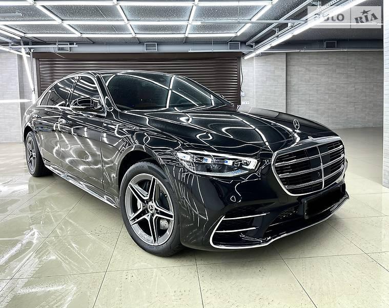 Седан Mercedes-Benz S 400 2021 в Києві