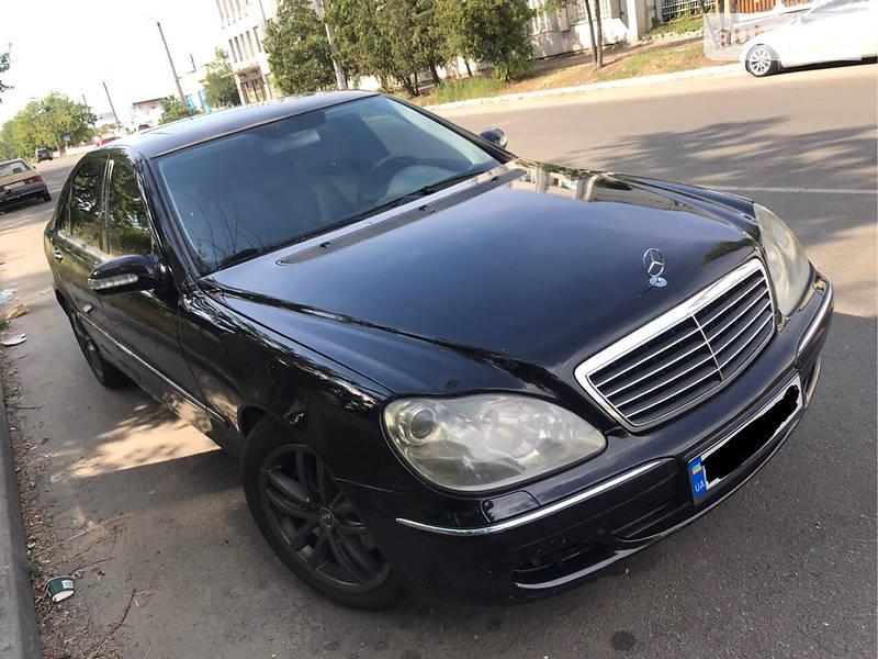 Mercedes-Benz S 500 5.0 4 Matic 2003