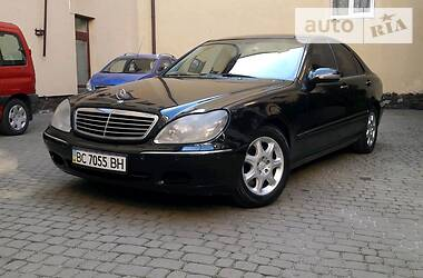 Mercedes-Benz S 500 2000 в Львове