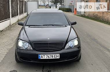 Mercedes-Benz S 500 2002 в Черновцах