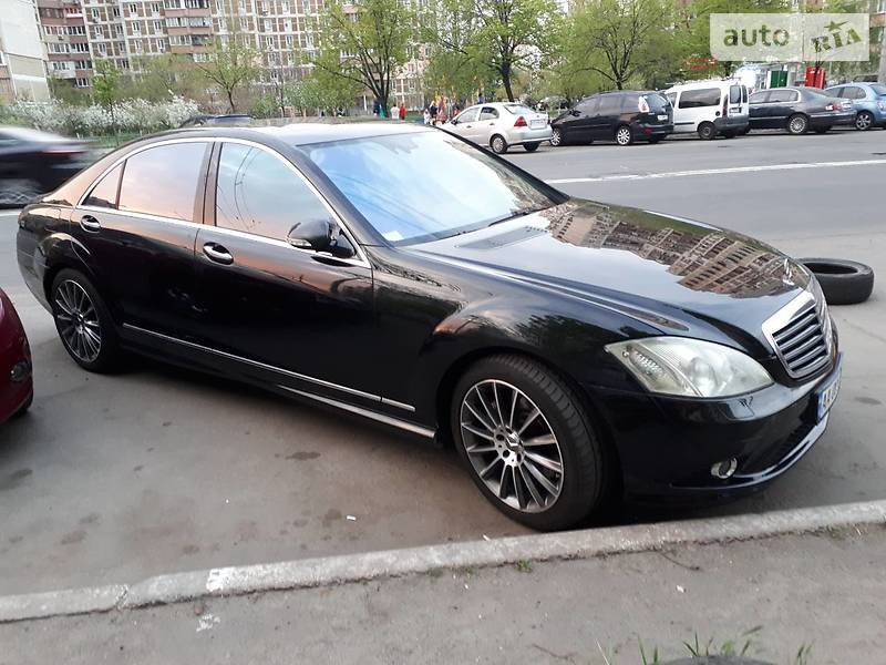 Mercedes-Benz S 550 2007 в Киеве