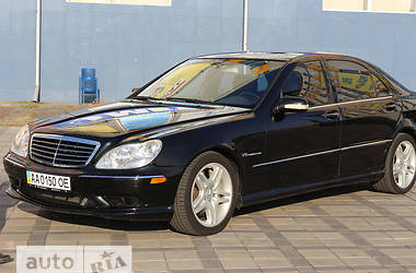 Mercedes-Benz S 55 2003