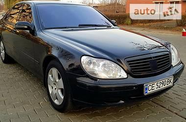 Mercedes-Benz S 600 2001
