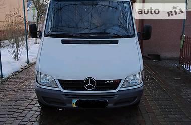 Легковой фургон (до 1,5 т) Mercedes-Benz Sprinter 208 груз.-пасс. 2006 в Львове