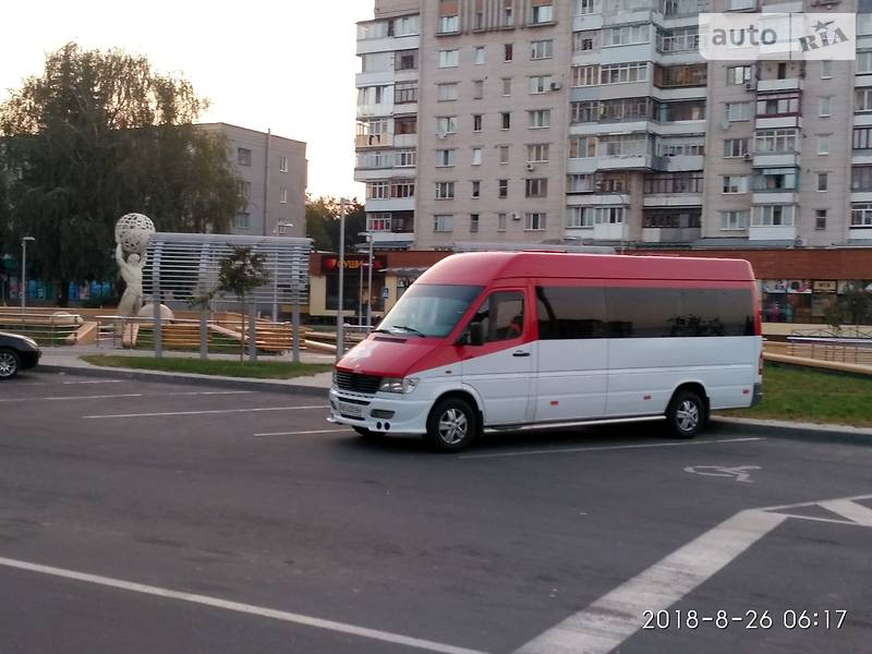 Мікроавтобус (від 10 до 22 пас.) Mercedes-Benz Sprinter 312 пас. 1997 в Вінниці