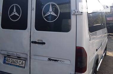 Легковий фургон (до 1,5т) Mercedes-Benz Sprinter 316 груз.-пасс. 2003 в Чернівцях