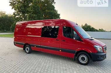 Микроавтобус грузовой (до 3,5т) Mercedes-Benz Sprinter 316 груз. 2018 в Черновцах