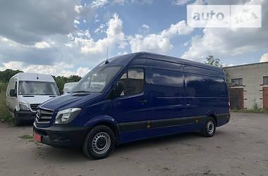 Микроавтобус грузовой (до 3,5т) Mercedes-Benz Sprinter 316 груз. 2017 в Ровно