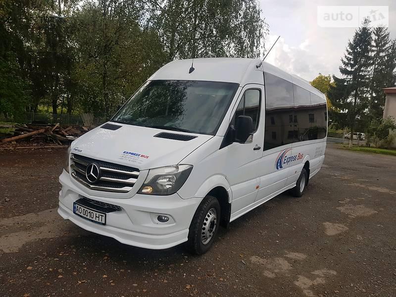 Туристичний / Міжміський автобус Mercedes-Benz Sprinter 519 пас. 2016 в Іршаві