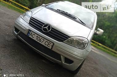 Минивэн Mercedes-Benz Vaneo 2002 в Любомле