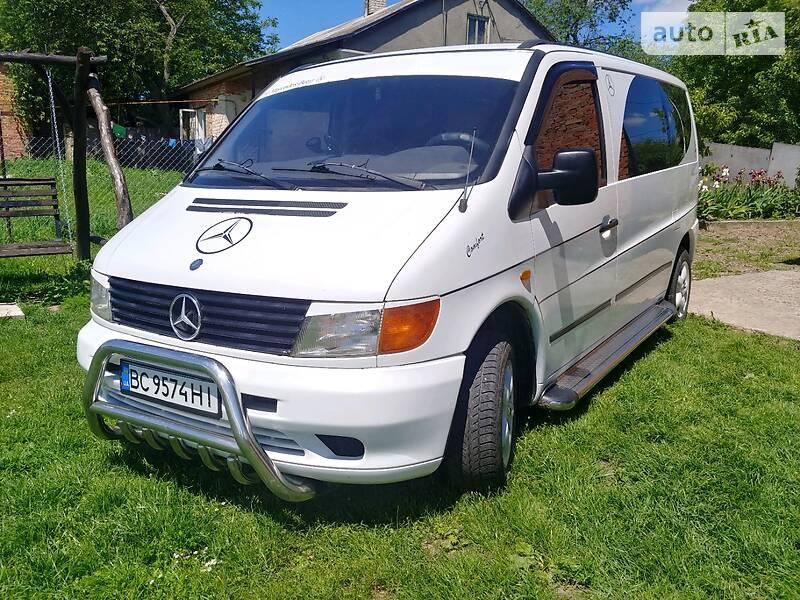 Легковий фургон (до 1,5т) Mercedes-Benz Vito 108 1997 в Сокалі