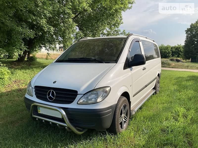 Легковий фургон (до 1,5т) Mercedes-Benz Vito 111 2005 в Олександрівці