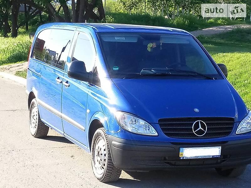 Mercedes-Benz Vito груз.-пасс. 2008 в Запорожье