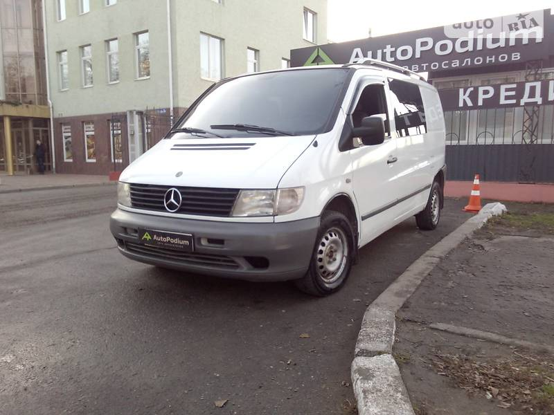 Mercedes-Benz Vito груз.-пасс. 2002 в Николаеве