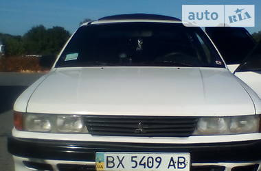 Седан Mitsubishi Galant 1989 в Белогорье