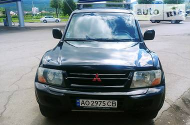 Mitsubishi Pajero Wagon 2002 в Ужгороде
