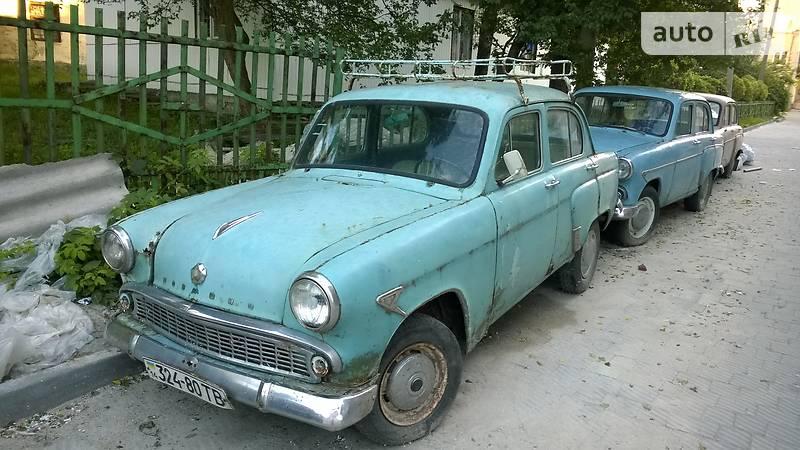 Москвич / АЗЛК 403 1959 года в Львове