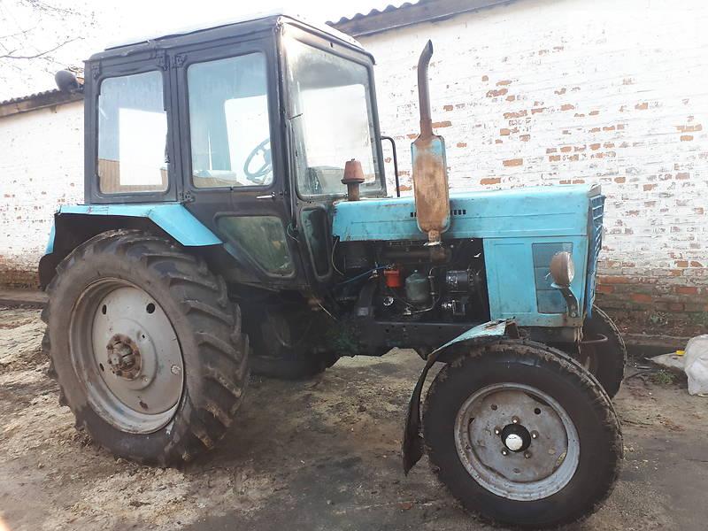 МТЗ 80 Беларус 1990 в Христиновке