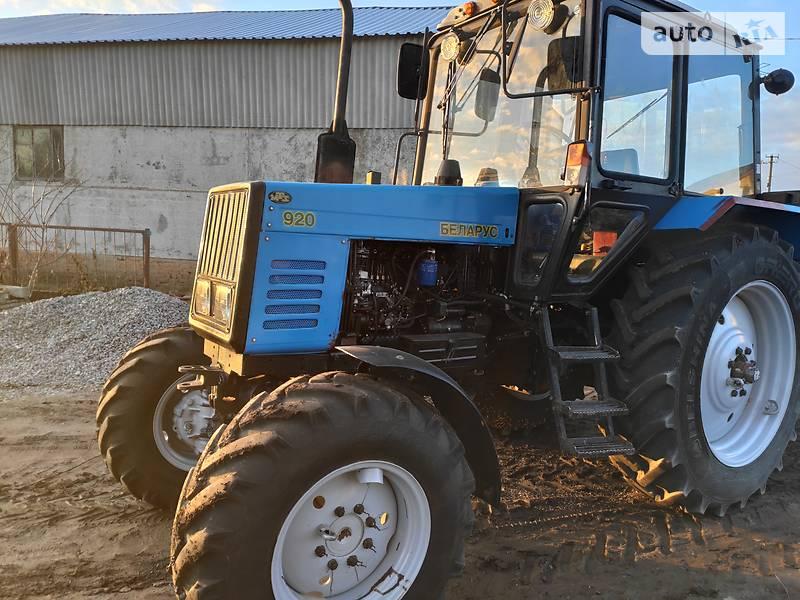 МТЗ 920  Беларус 2008 в Христиновке