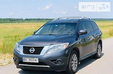 Внедорожник / Кроссовер Nissan Pathfinder 2014 в Львове