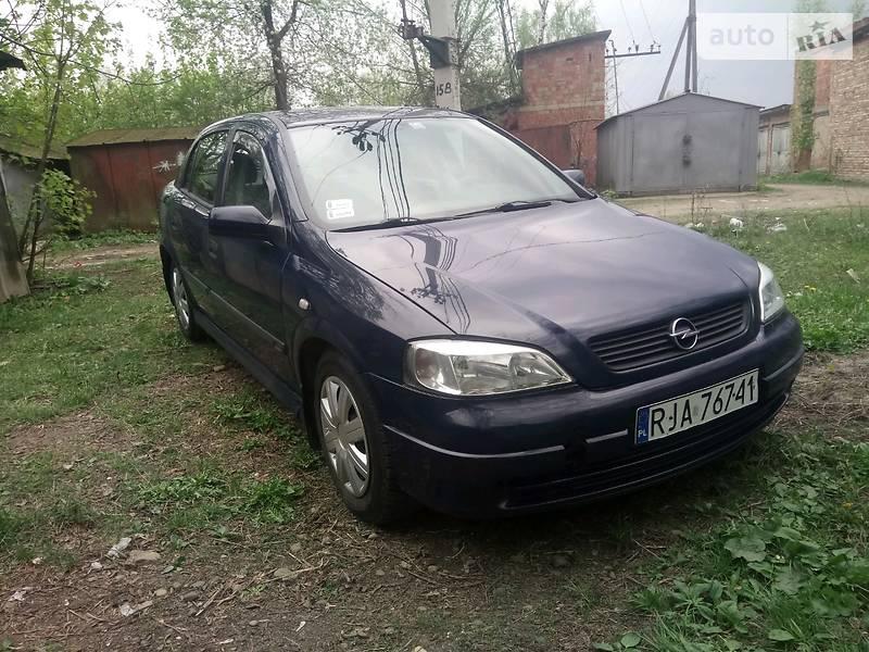 Opel Astra G 1999 в Черновцах