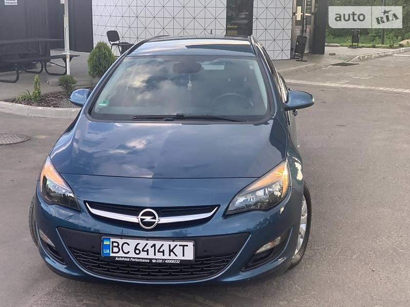Унiверсал Opel Astra J 2014 в Самборі