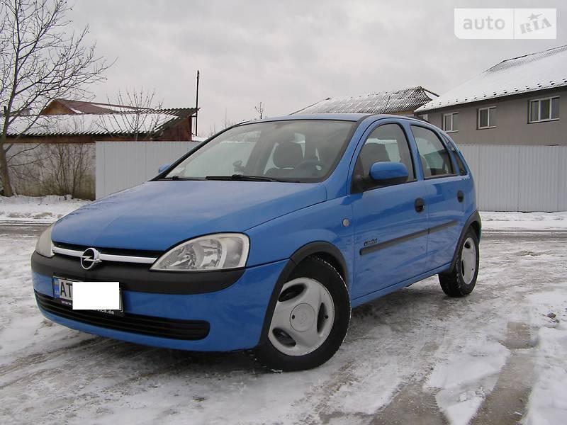 Opel Corsa 2001 року в Івано-Франківську