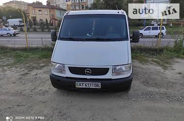 Opel Movano груз.-пасс. 2000 в Ивано-Франковске