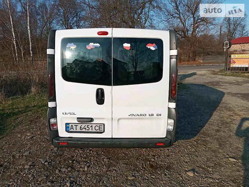 Opel Vivaro пасс. 2005 в Калуше