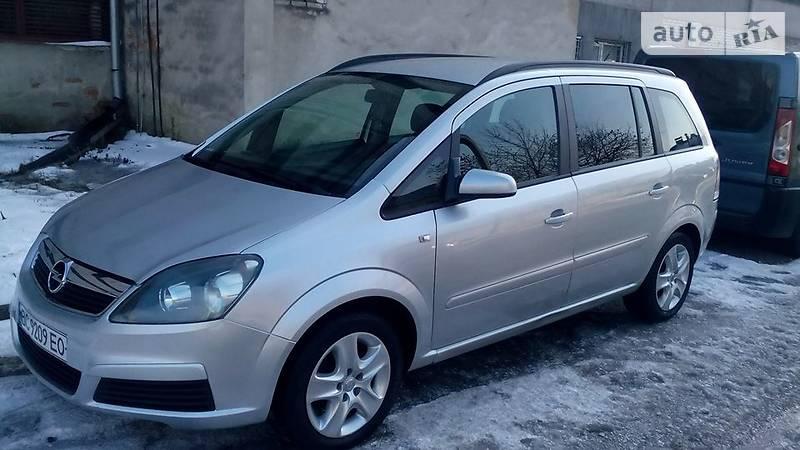 Opel Zafira 2007 года
