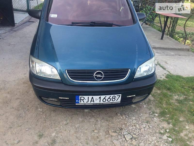Opel Zafira 2001 в Дрогобичі