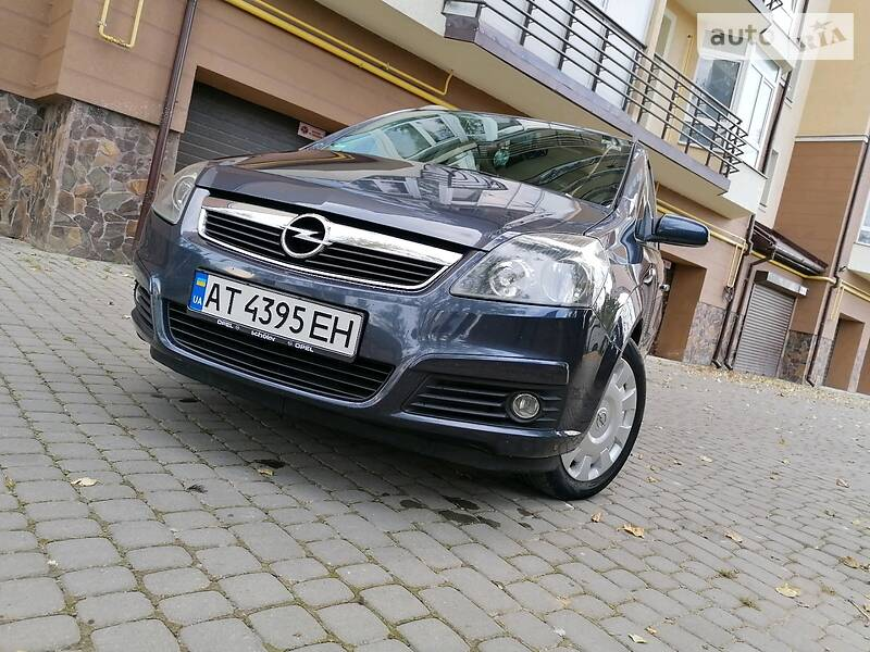 Opel Zafira 7 Misna cng