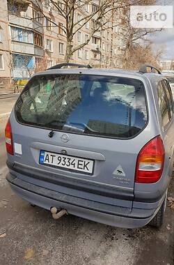 Мінівен Opel Zafira 1999 в Харкові