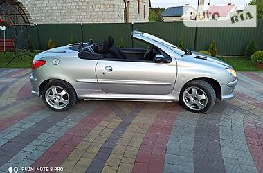 Кабриолет Peugeot 206 СС 2003 в Львове