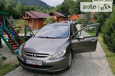 Универсал Peugeot 307 2003 в Ужгороде