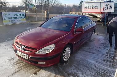 Седан Peugeot 607 2001 в Львове