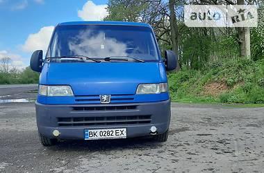 Легковой фургон (до 1,5 т) Peugeot Boxer груз. 2001 в Владимир-Волынском