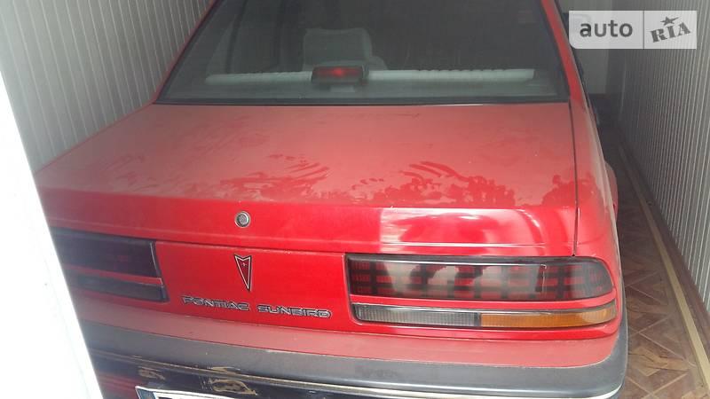 Pontiac Sunbird 1991 года