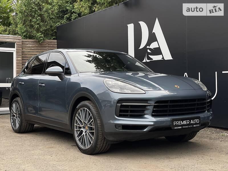 Внедорожник / Кроссовер Porsche Cayenne 2018 в Киеве