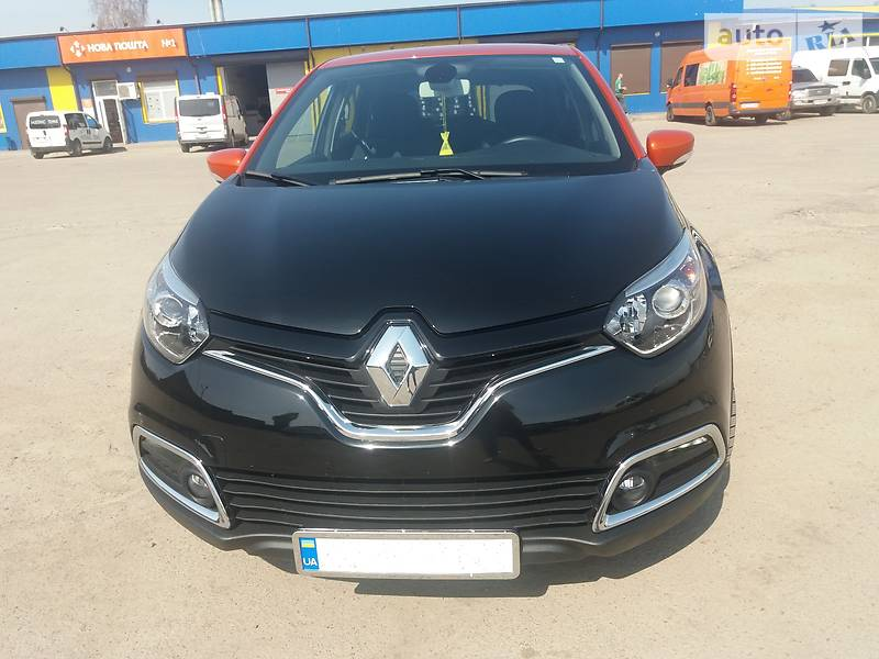 Renault Captur 2016 года