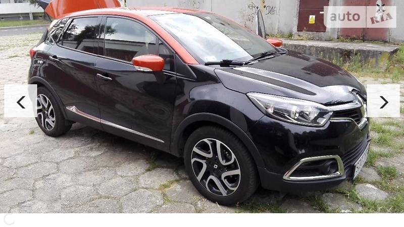 Renault Captur 2014 года