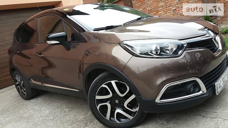 Renault Captur 2013 года