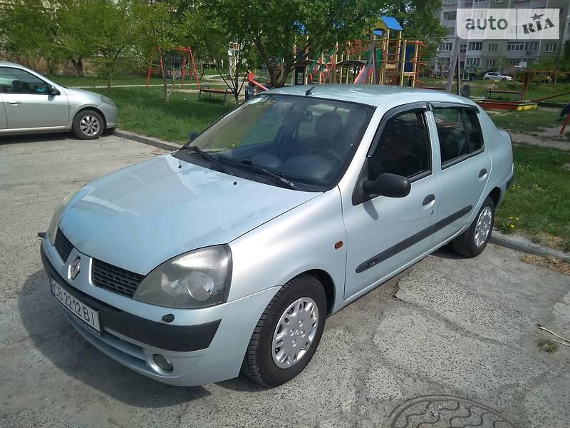 Renault Clio Symbol 2002 в Чернигове