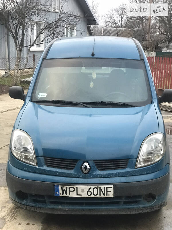 Renault Kangoo груз. Grus