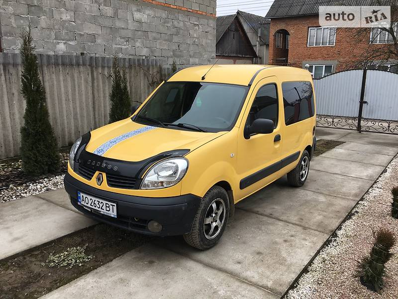 Renault Kangoo 2008 года