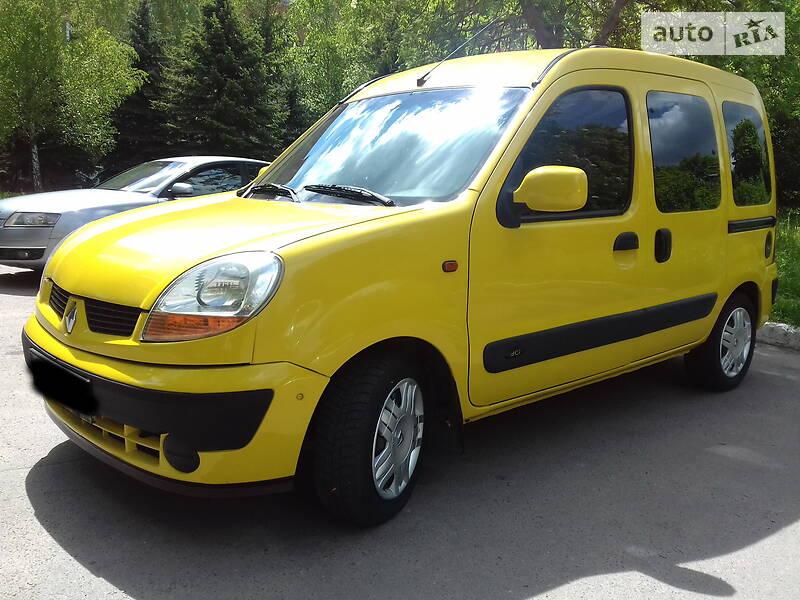 Легковий фургон (до 1,5т) Renault Kangoo пасс. 2004 в Рівному