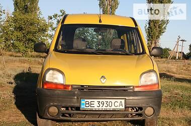Renault Kangoo пасс. 2002 в Снигиревке