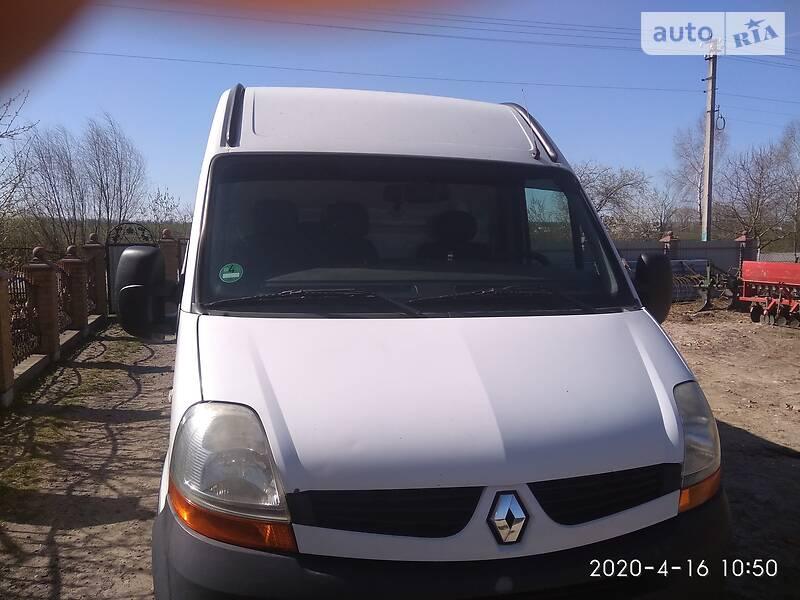 Легковий фургон (до 1,5т) Renault Master груз. 2007 в Кам'янці-Бузькій
